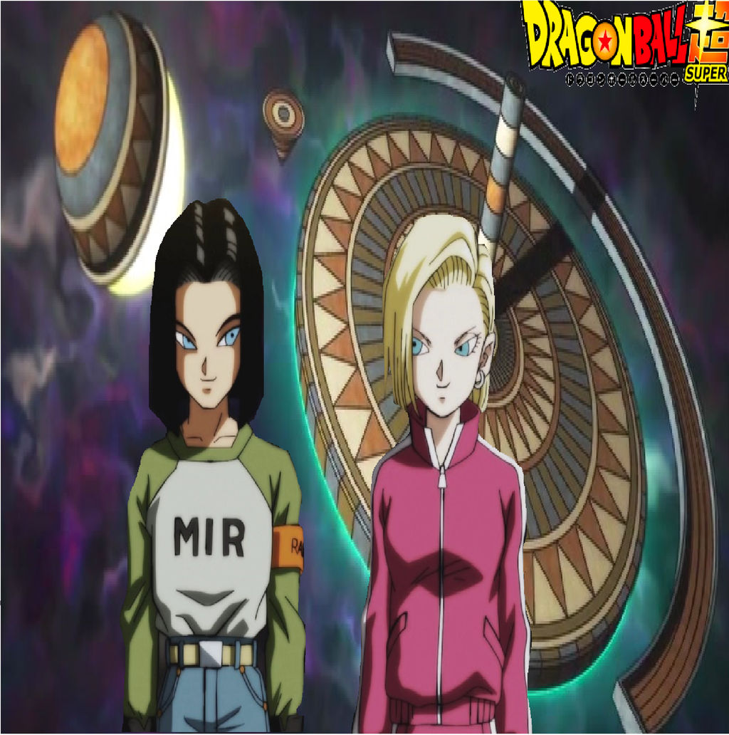 Android 17 And Android 18 Wallpaper By Catcamellia On Deviantart