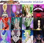 Dragon Ball FighterZ Character Wishlist