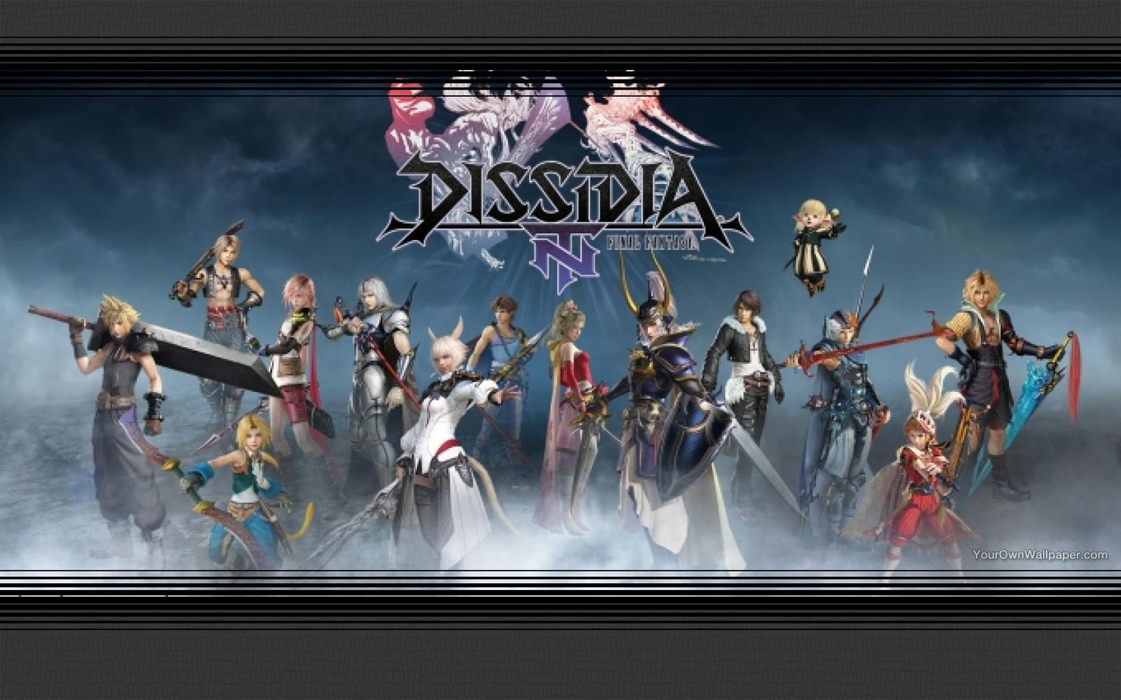 Dissidia Final Fantasy Nt Wallpaper By Catcamellia On Deviantart
