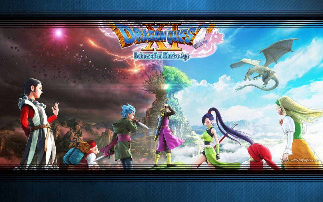 Dragon Quest XI Echoes of an Elusive Age Wallpaper
