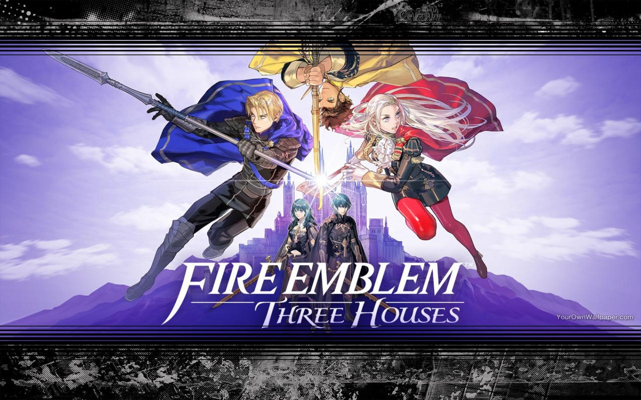 Fire Emblem Three Houses Wallpaper By Catcamellia On Deviantart