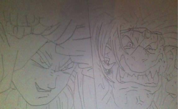 Dragon Ball Super Chapter 55 Vegeta vs Yuzun