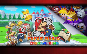 Paper Mario The Origami King Wallpaper