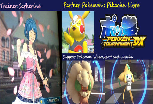 Pokken Tournament DX: Catherine and her Pokemon