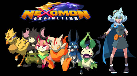My Nexomon Extinction Team