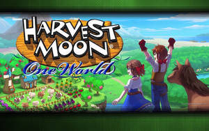 Harvest Moon One World Wallpaper