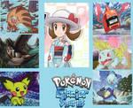 My Pokemon Glacier Shards Team by CatCamellia