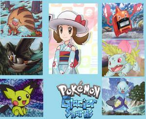 My Pokemon Glacier Shards Team