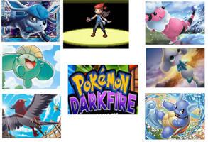 My Pokemon Darkfire Team