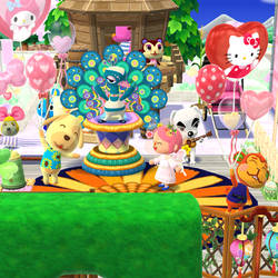 Party at my campsite