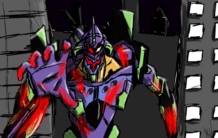 Eva unit 01 by MontyP
