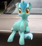 Custom 3D printed Lyra figure!