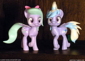 Flitter and Cloudchaser 3D Print by Clawed-Nyasu