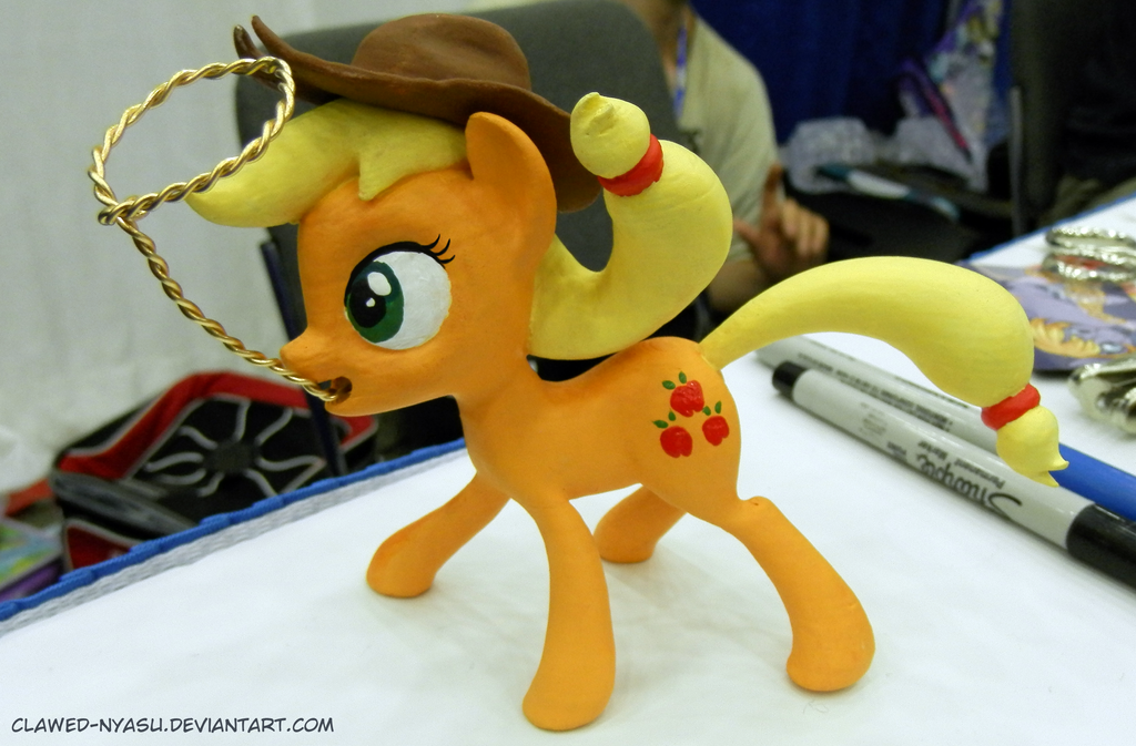 Applejack 3D Print [Bronycon] by Clawed-Nyasu
