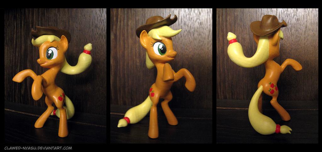 Applejack 3D Printed Figure