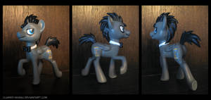 Discord Whooves 3D Printed Figure