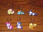 Chibi Pony Keychains