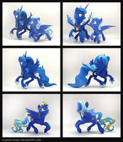 Evening Song + Luna 3D-Printed Figures by Clawed-Nyasu