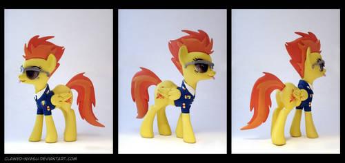 Spitfire 3D-Printed Figure