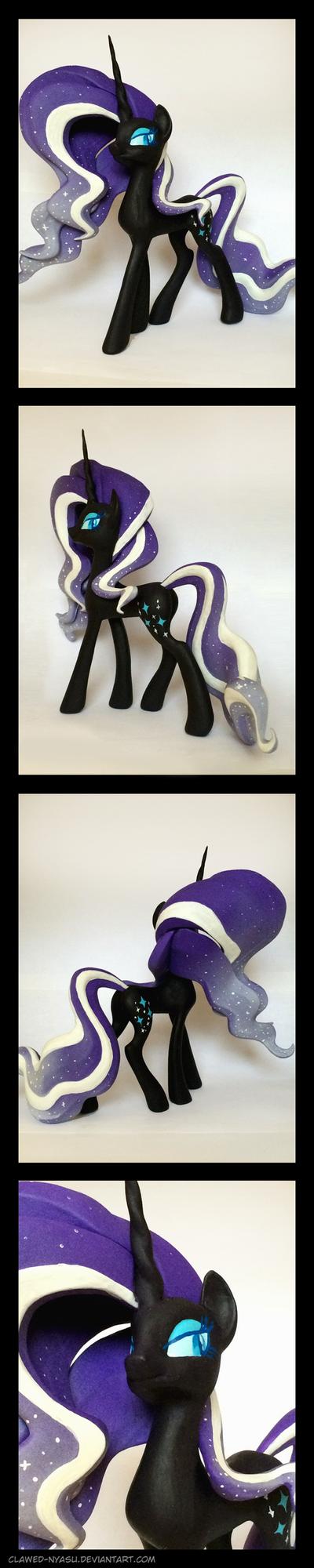 Nightmare Rarity 3D-Printed Figure by Clawed-Nyasu