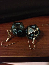 D20 Dice Earrings by Natshue