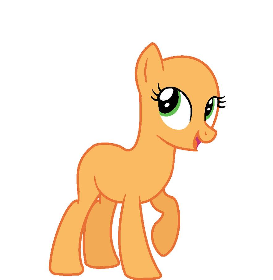 my little pony earth pony base