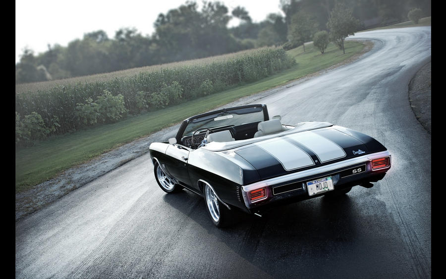 1970 Chevelle SS Convertible by reehoff-design