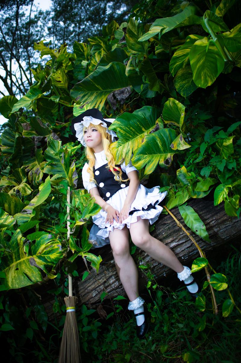 Kirisame Marisa : In the Forest by Ototsuki