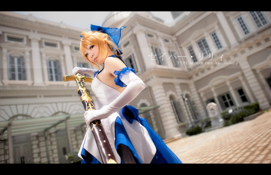 Saber Lily - Type Moon 10 Anniversary Ver Photo 2 by Ototsuki