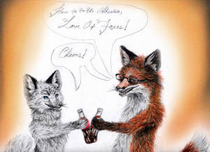 Love of Foxes Contest Entry