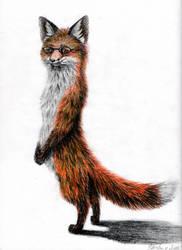 Imma Fox Standing!