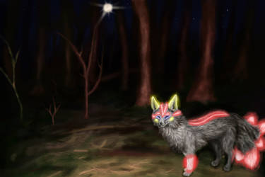 Follow me into the forest, as furry as you are!