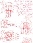Me Being Shy! ((Sketch Dump~!))