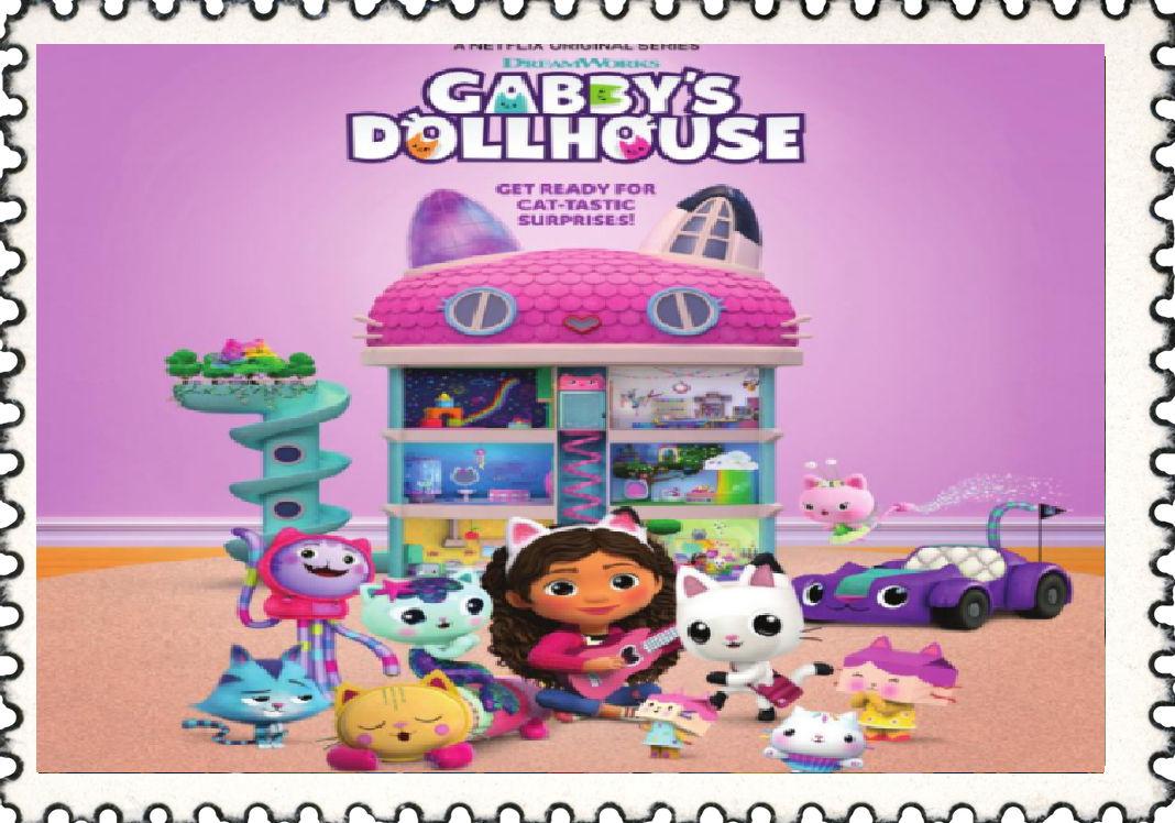 Gabby's Dollhouse Stamp