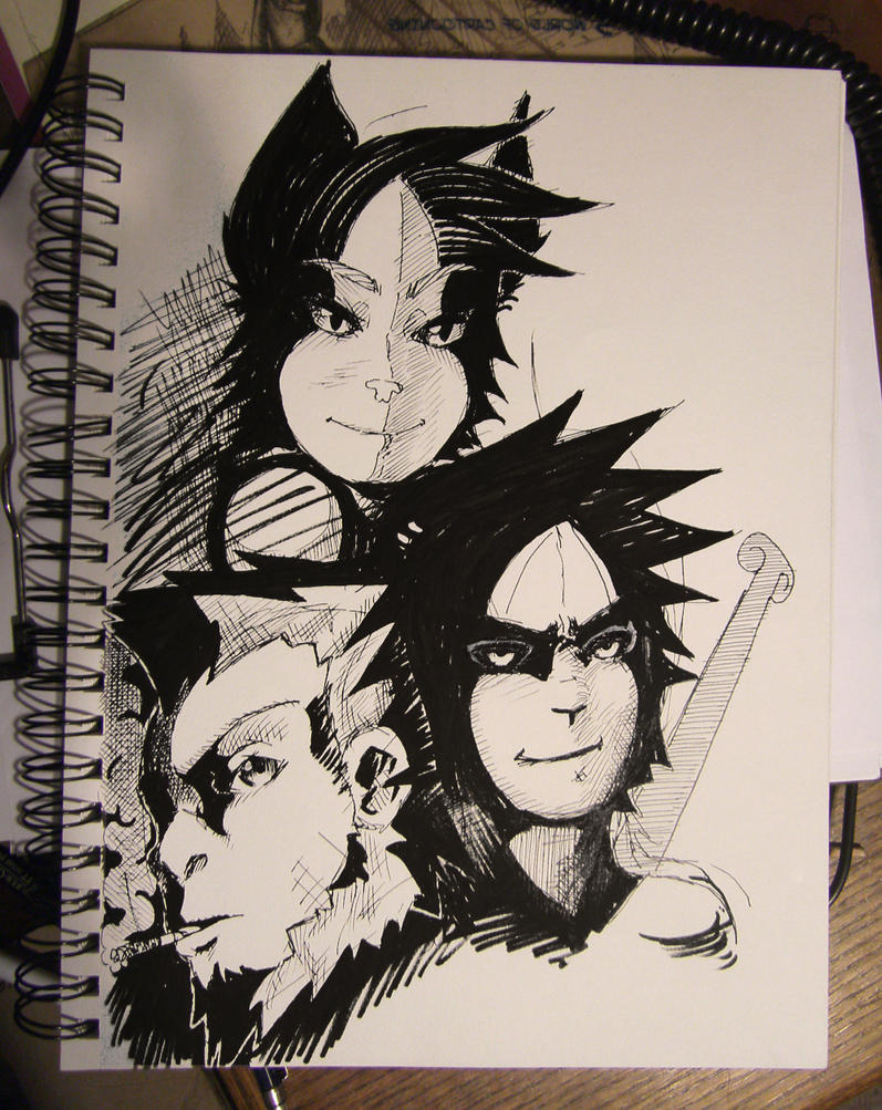 sketches by arinfu