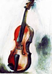 violin study by IoanaHutuleac