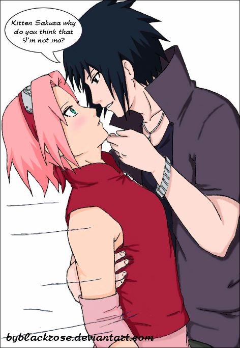 SasuSaku way of the ninja (color version) by byBlackRose