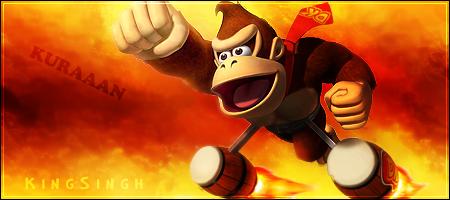 Donkey Kong sig by KingS1ngh