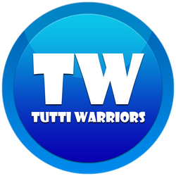 Tutti Warriors logo - Blue by KingS1ngh