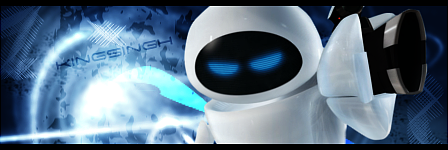 Wall-E - Eve sig by KingS1ngh
