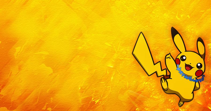 Pikachu Twitter header by KingS1ngh
