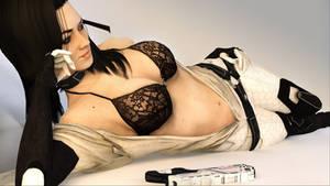 Miranda Lawson, Femme Fatale #7 by Skllhrt