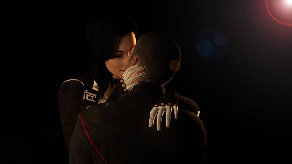 Valentine's kiss. by Skllhrt