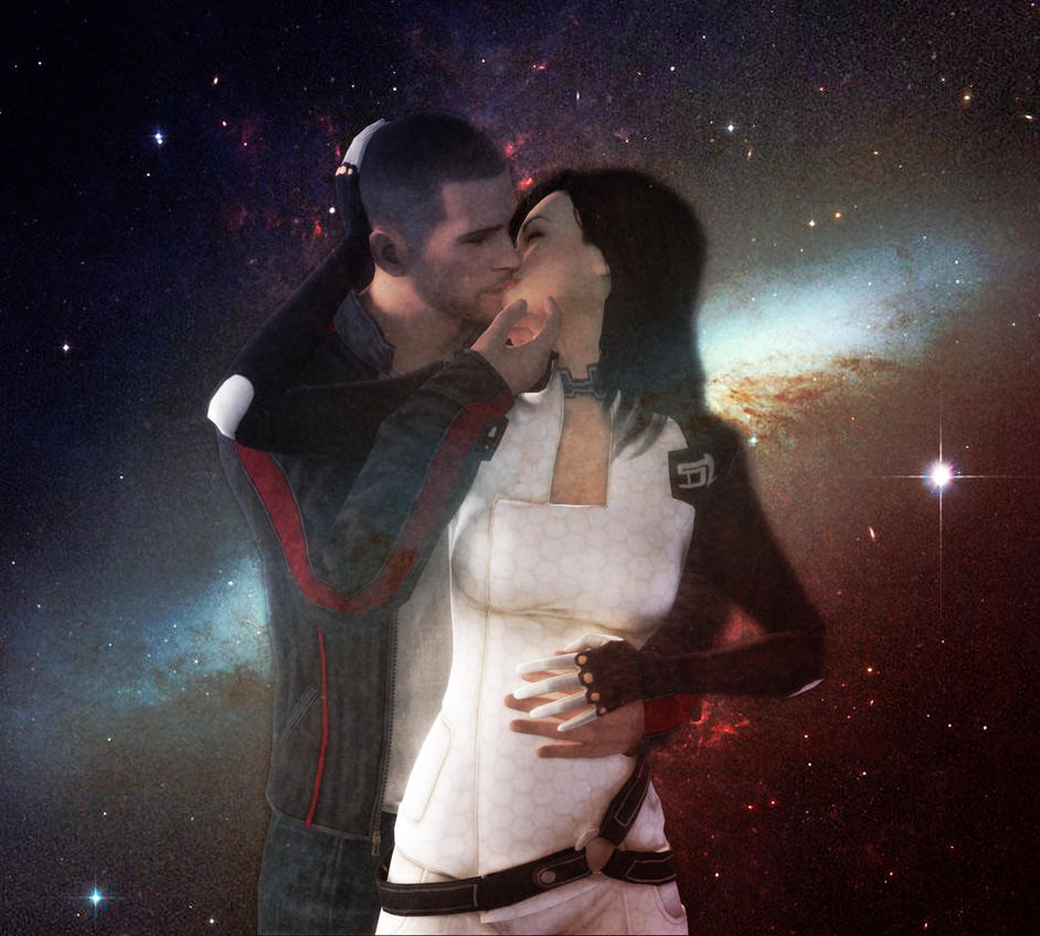 Kiss in the Galaxy by Skllhrt
