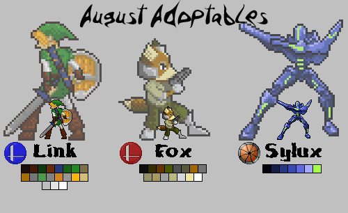 August's Adoptables by HazeArtworks