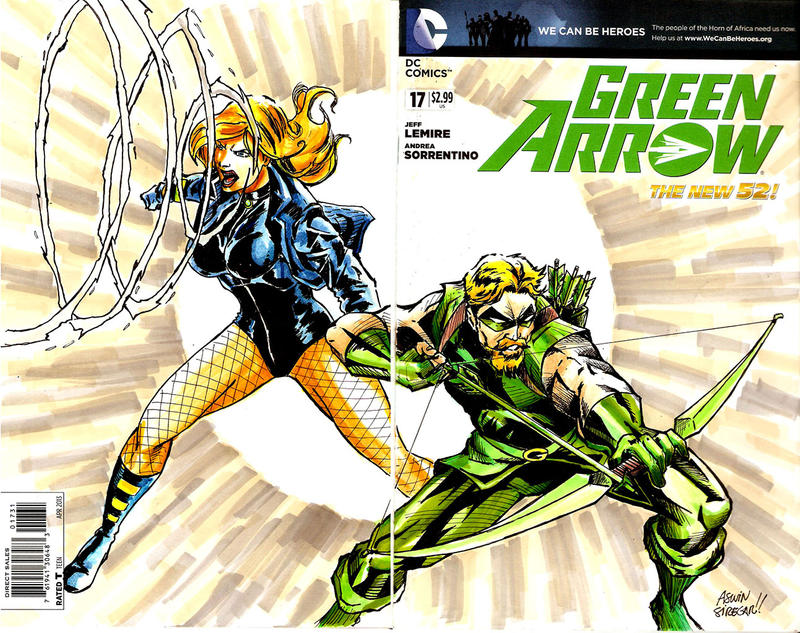 Green Arrow And Black Canary Green Arrow Black Canary by