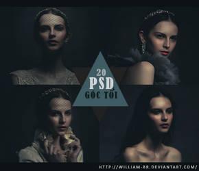 PSD 20: Dark Corner by William-BR