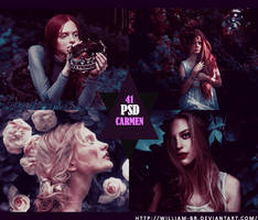 PSD 41: Carmen by William-BR