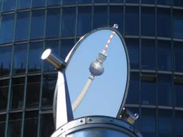 Potsdamer-Platz is reflective