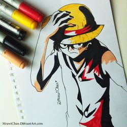 Monkey D. Luffy by Mrawi-Chan